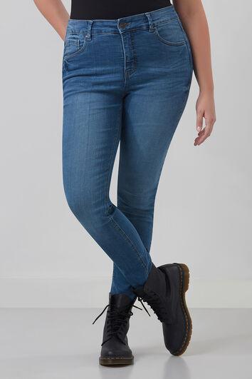 SHAPING Jeans mit schmalem Beinschnitt