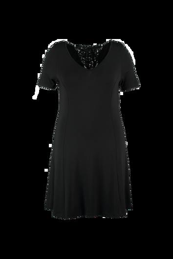 Einfarbiges Kleid